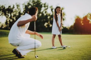 Golf for Girls event by YWCA Alexandria